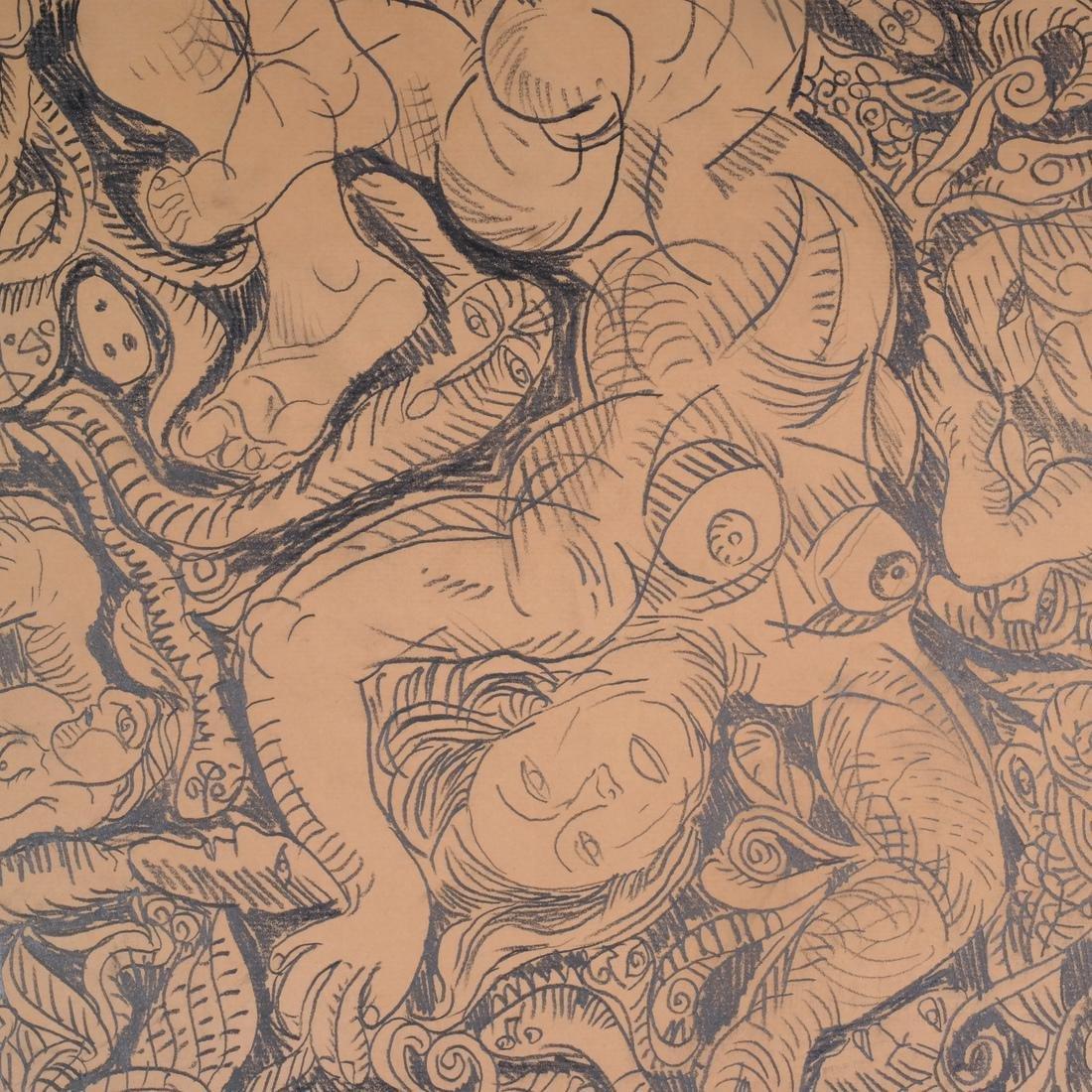 George Chemeche Graphite on Paper - 4