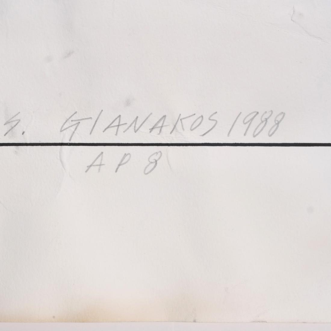 Steve Gianakos Litho, Signed A/P 1988 - 7