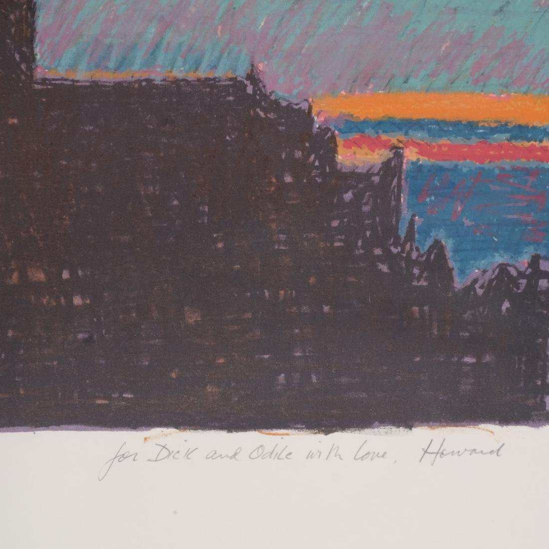 "Howard Kanovitz Litho ""Ground Above"" - 3"