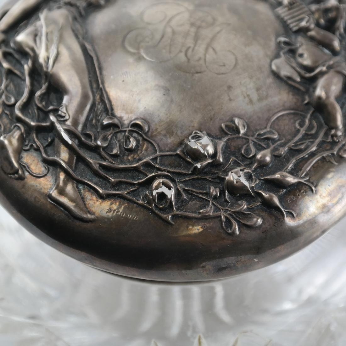 Sterling Silver Powder Jar - 3