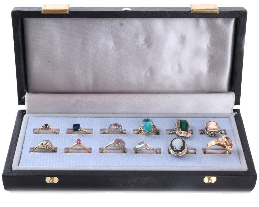 Assortment 14k Yellow Gold Rings