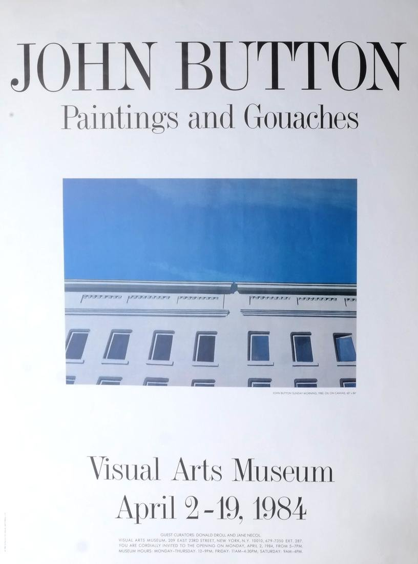 John Button (1929-1982) Drawing on Paper; 5 Others - 2