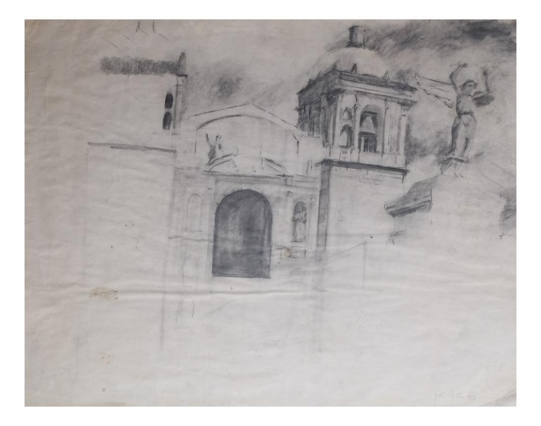 John Button (1929-1982) Drawing on Paper; 5 Others - 3