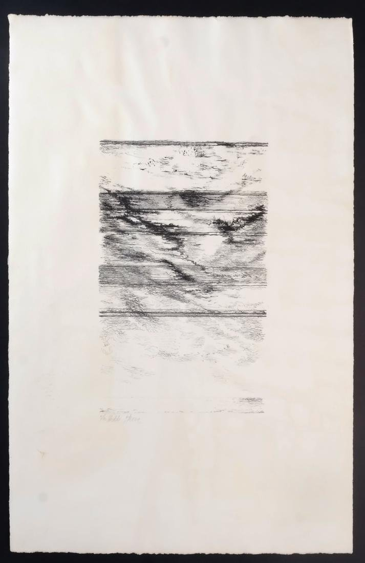 Hedda Sterne: Abstract, Ink on Paper