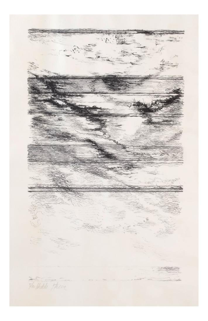 Hedda Sterne: Abstract, Ink on Paper - 2