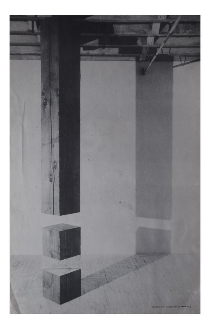 Buky Schwartz (1932-2009) Lithograph