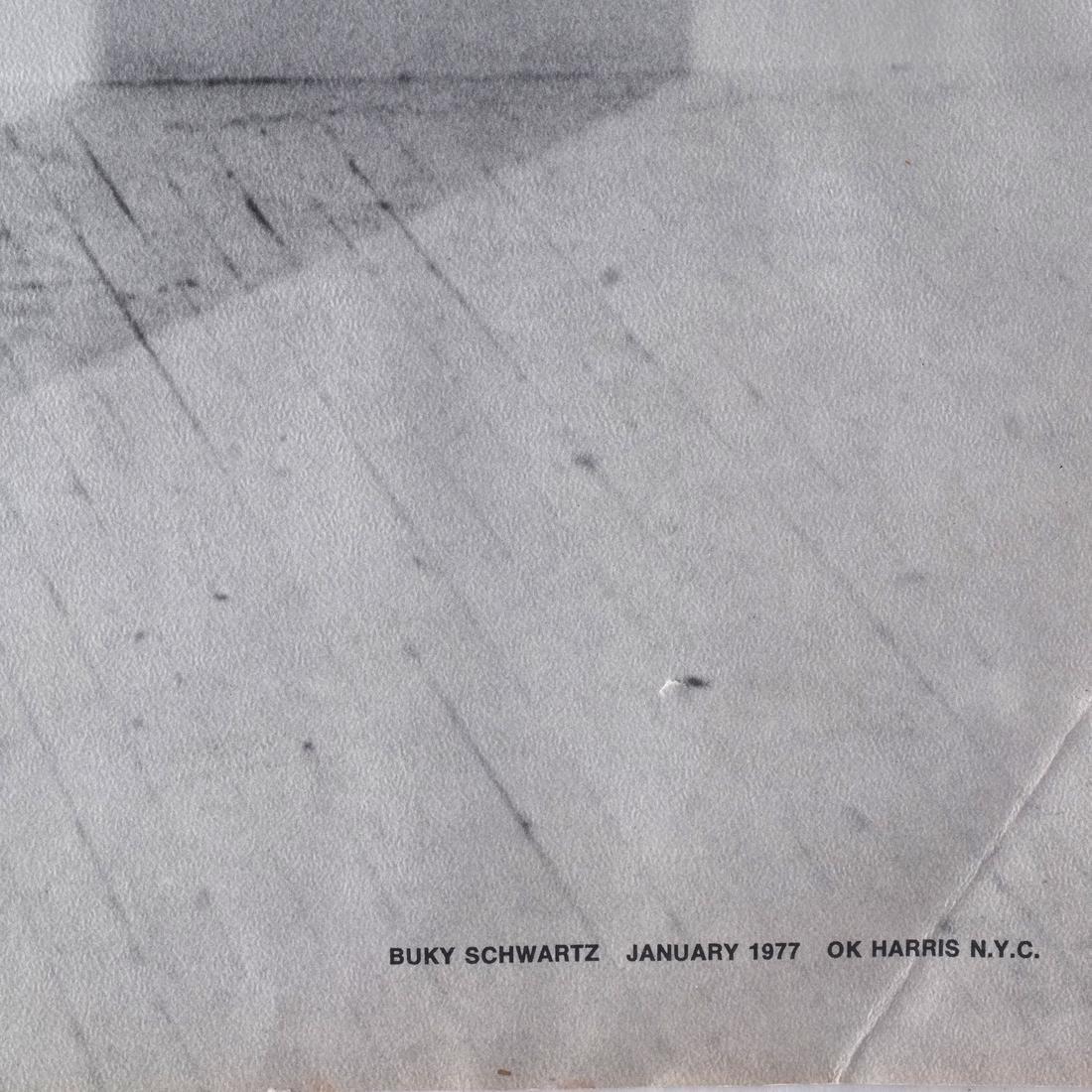 Buky Schwartz (1932-2009) Lithograph - 2