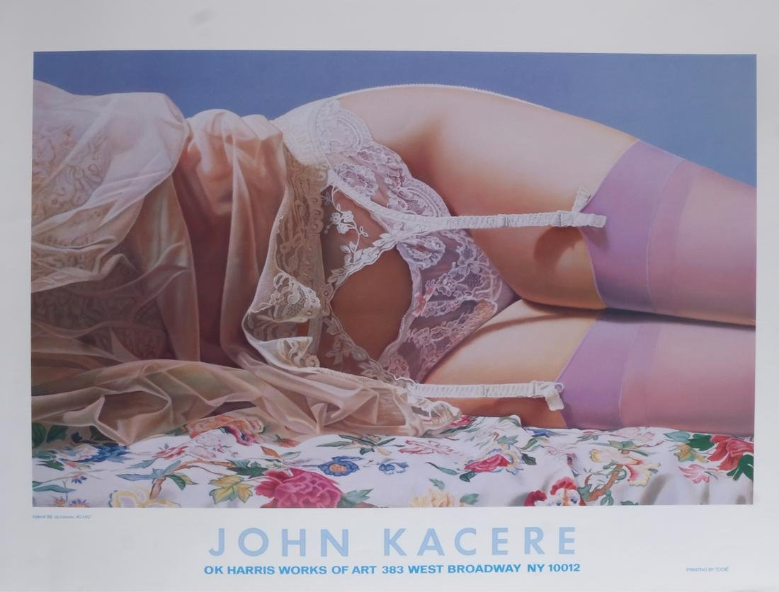 "John Kacere: Lithograph - ""Valerie"""