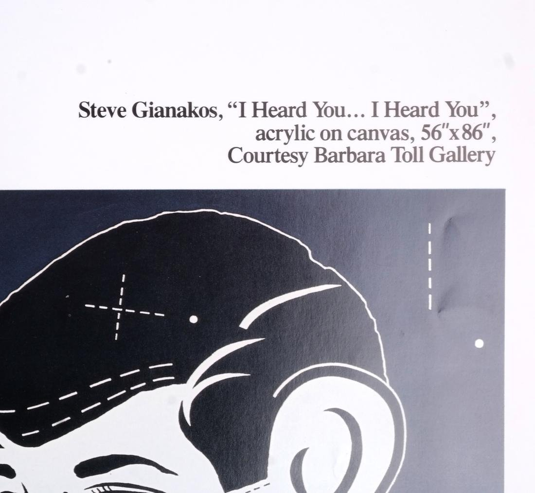 Steve Gianakos: Exhibition Poster - 2