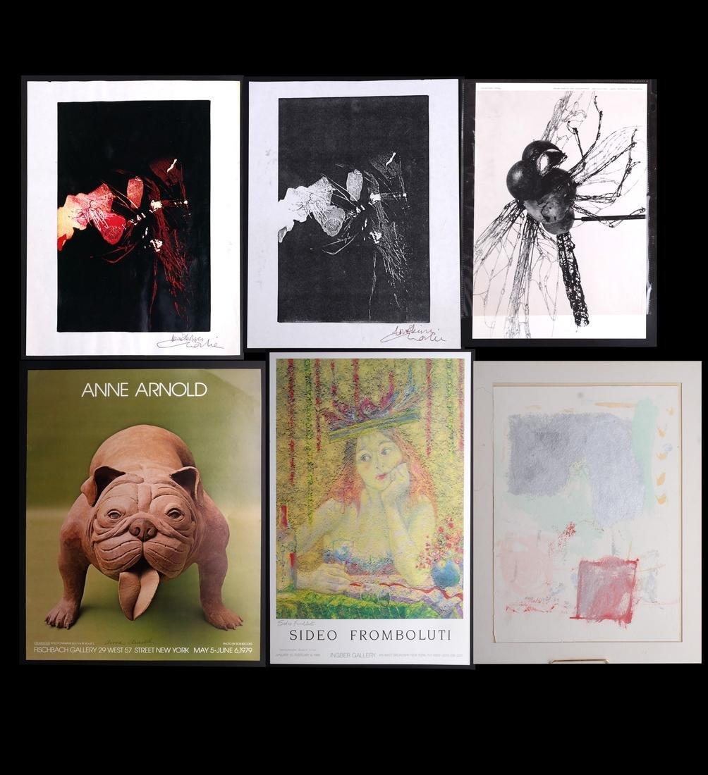 Exhibition Posters, Artwork, Photocopies, etc.