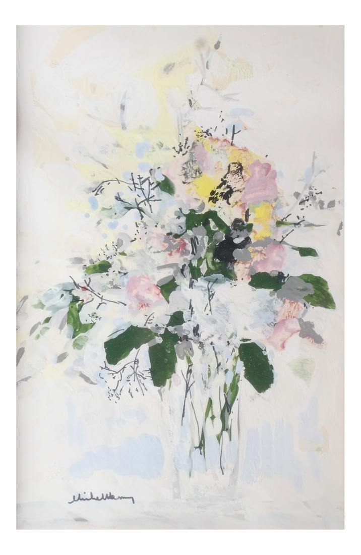 Michel Henry: Flowers, Watercolor