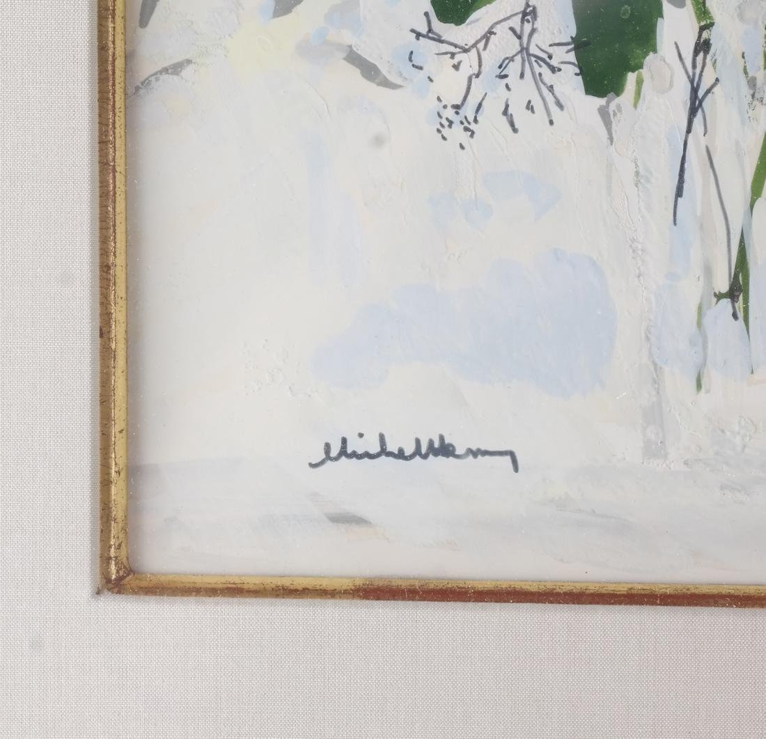 Michel Henry: Flowers, Watercolor - 3