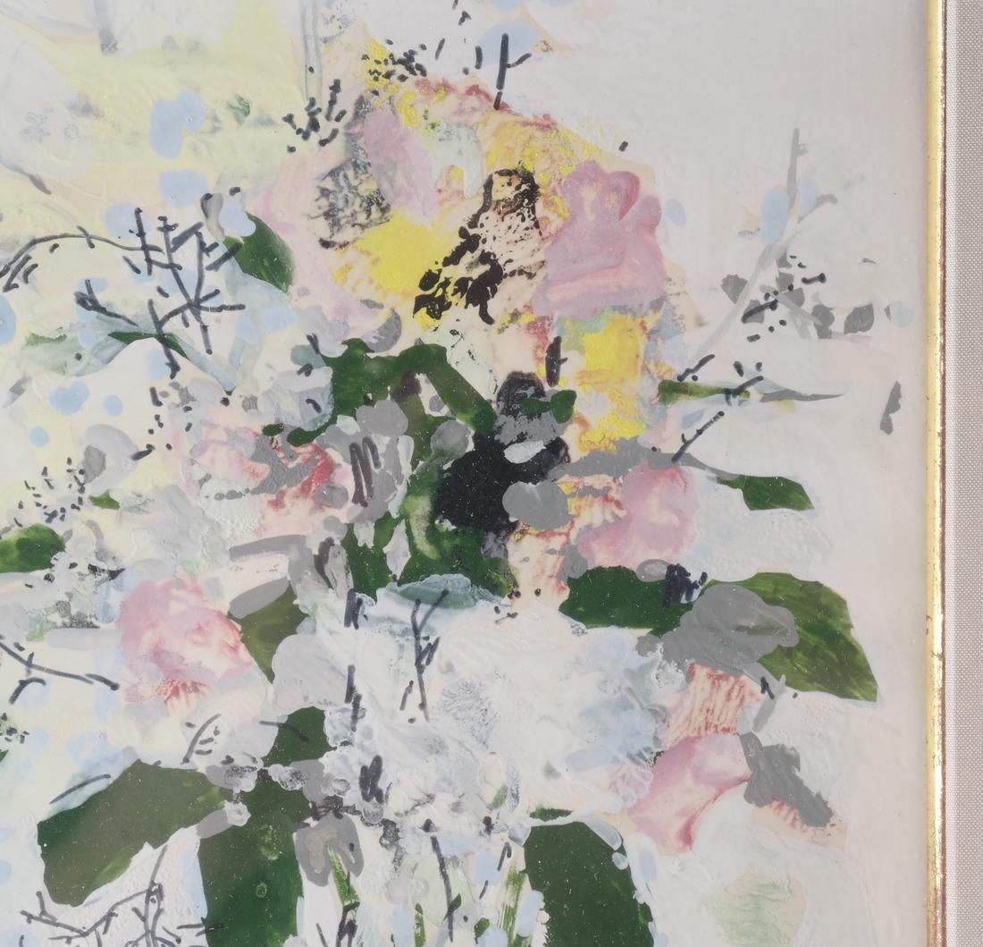 Michel Henry: Flowers, Watercolor - 4