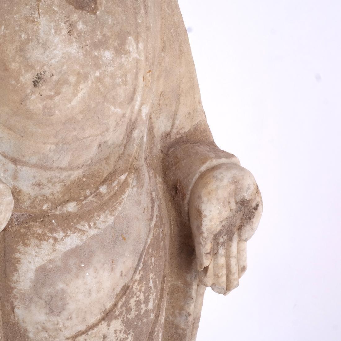 Asian Stone Buddha Sculpture - 2
