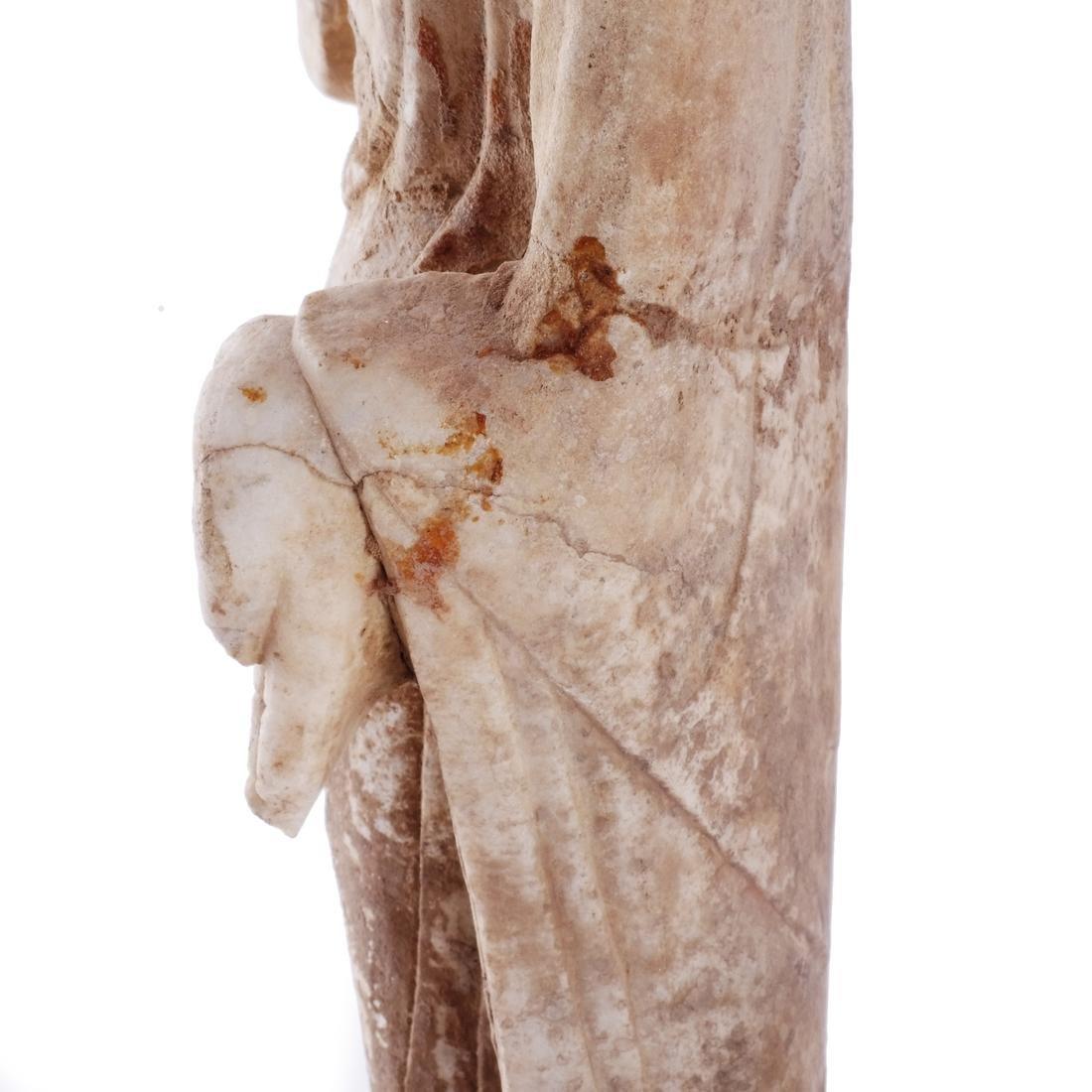 Asian Stone Buddha Sculpture - 5