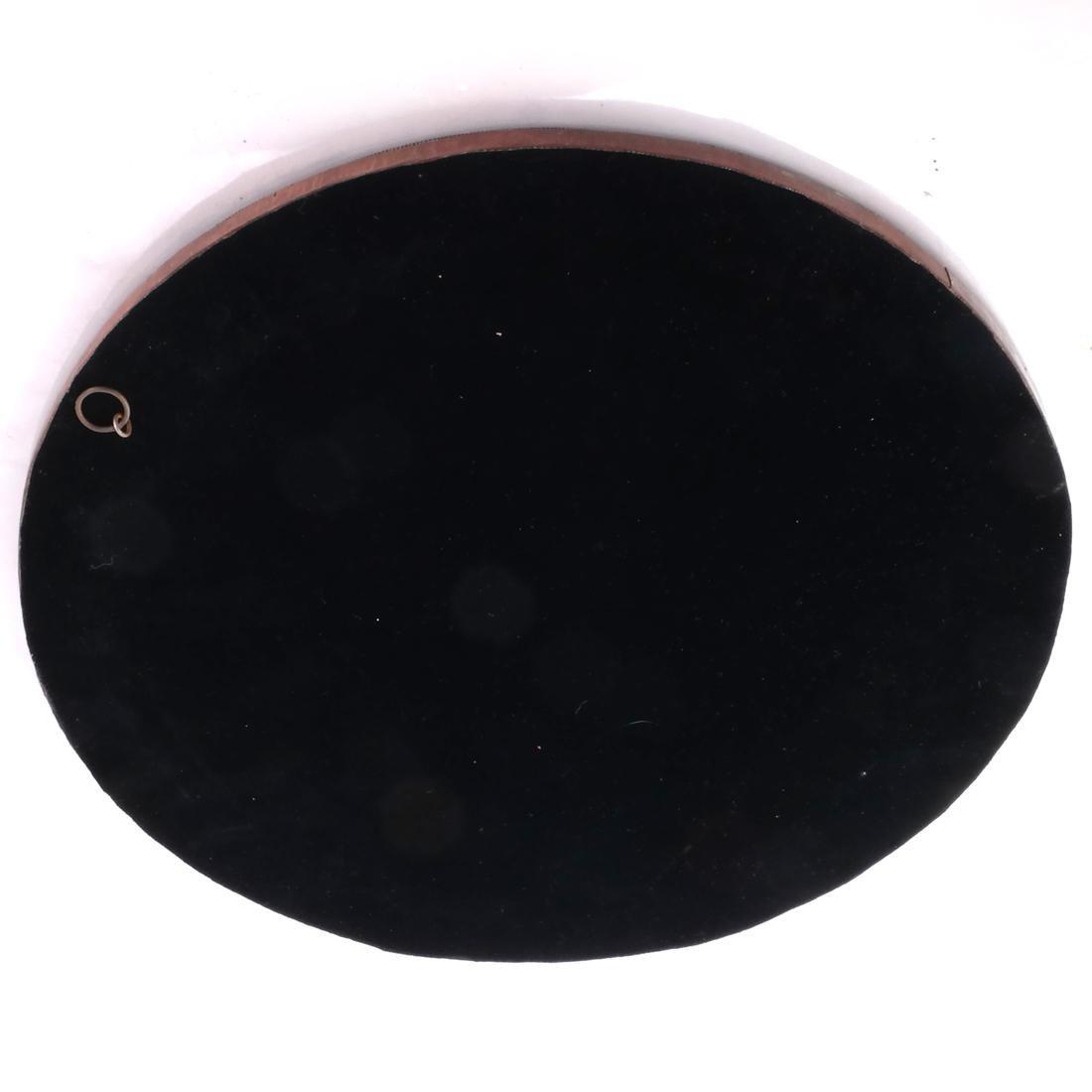 Tessellated-Style Circular Mirror - 3