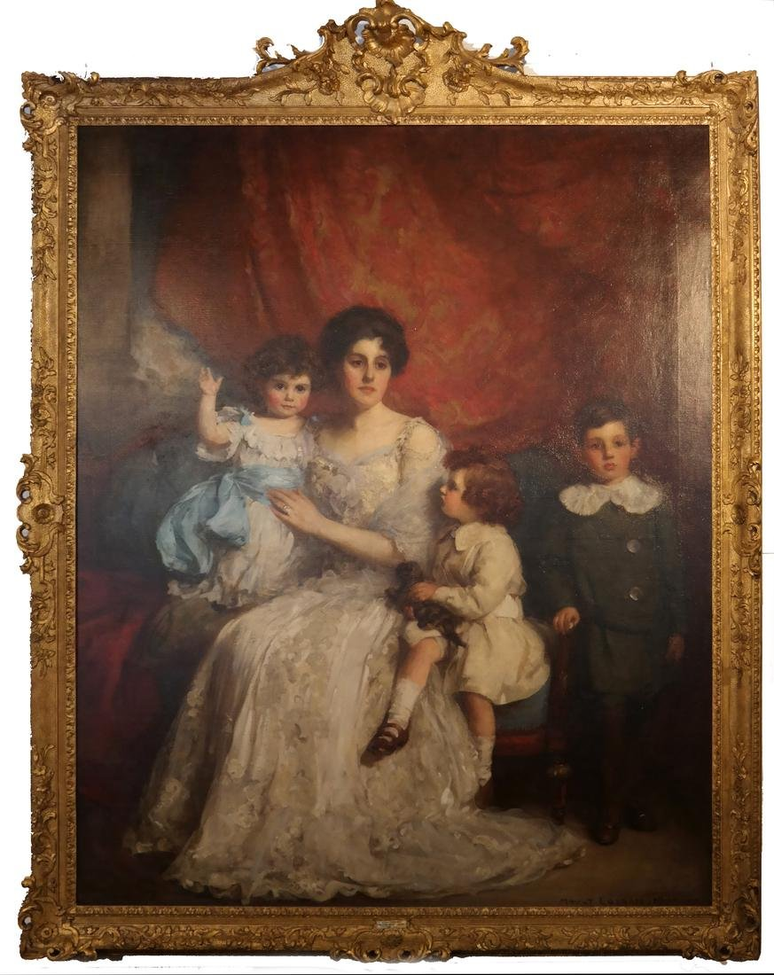 William Mouat Loudan: Family Portrait - O/C