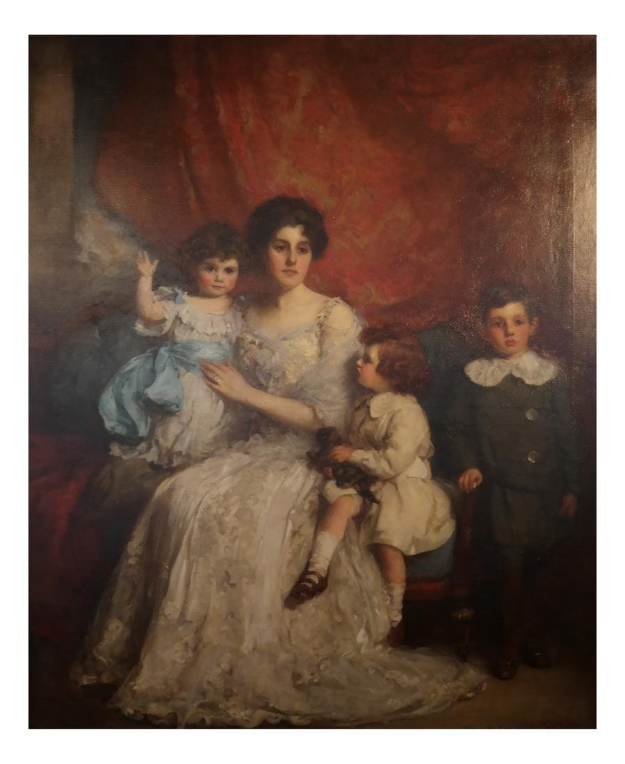 William Mouat Loudan: Family Portrait - O/C - 3