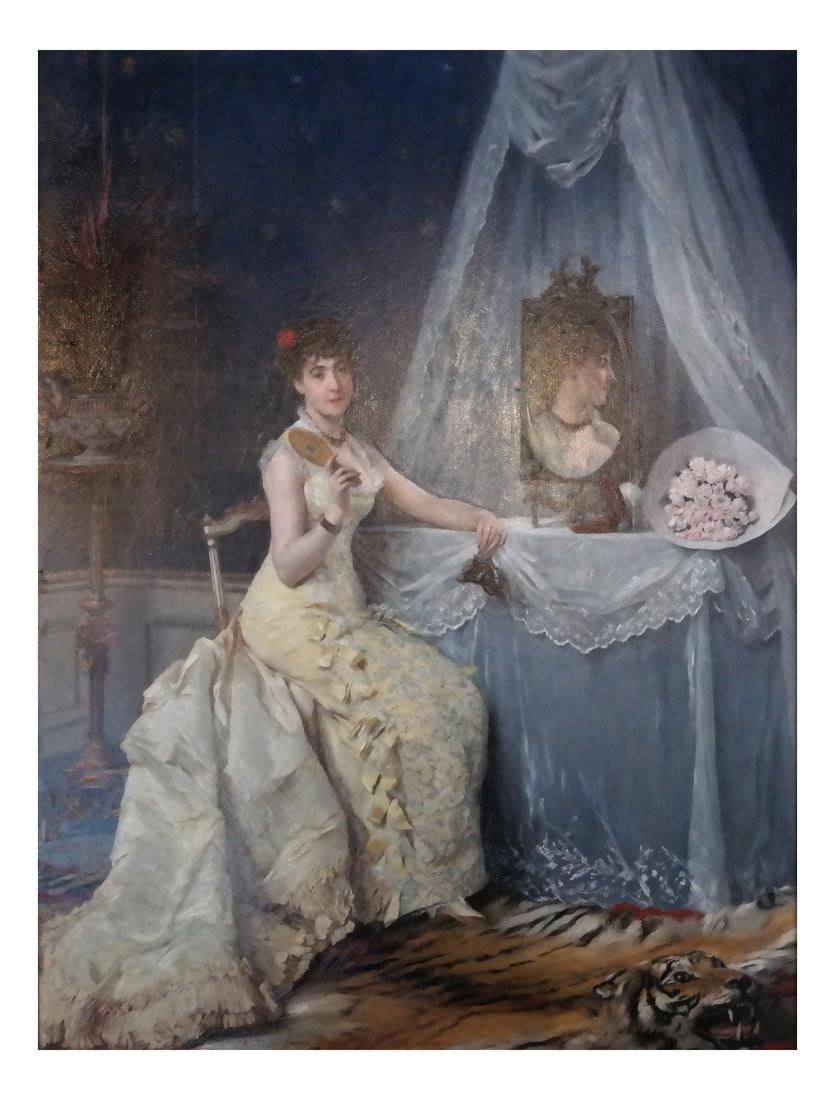 Gustave Leonard De Jonghe: A La Toilette - 2