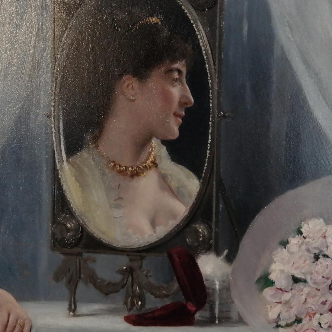 Gustave Leonard De Jonghe: A La Toilette - 5