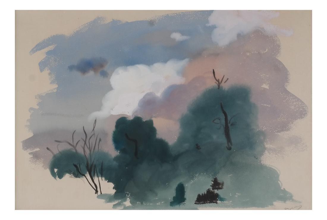 After Andre Derain: Woodland Landscape