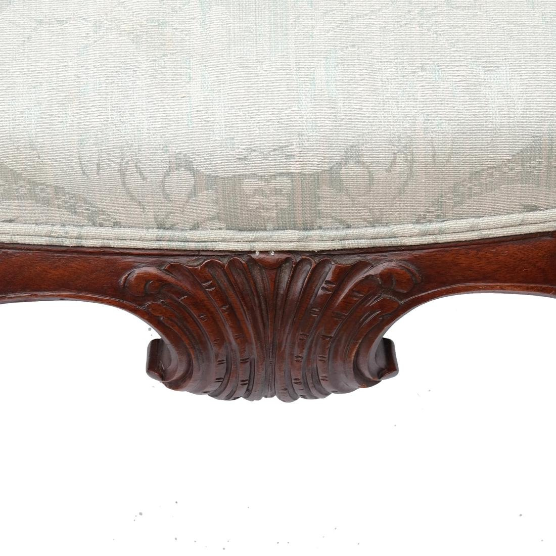 Irish Ball & Claw Wing Chair 19th Century - 4