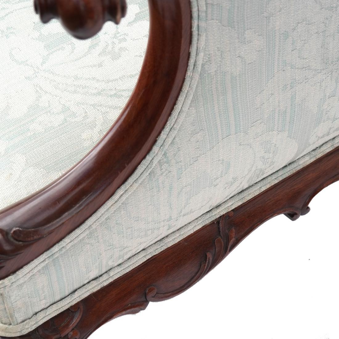 Irish Ball & Claw Wing Chair 19th Century - 6