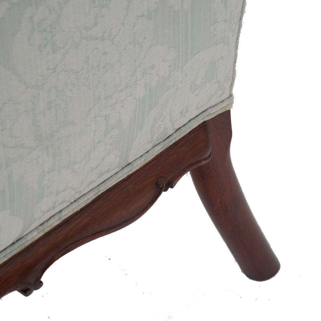 Irish Ball & Claw Wing Chair 19th Century - 7