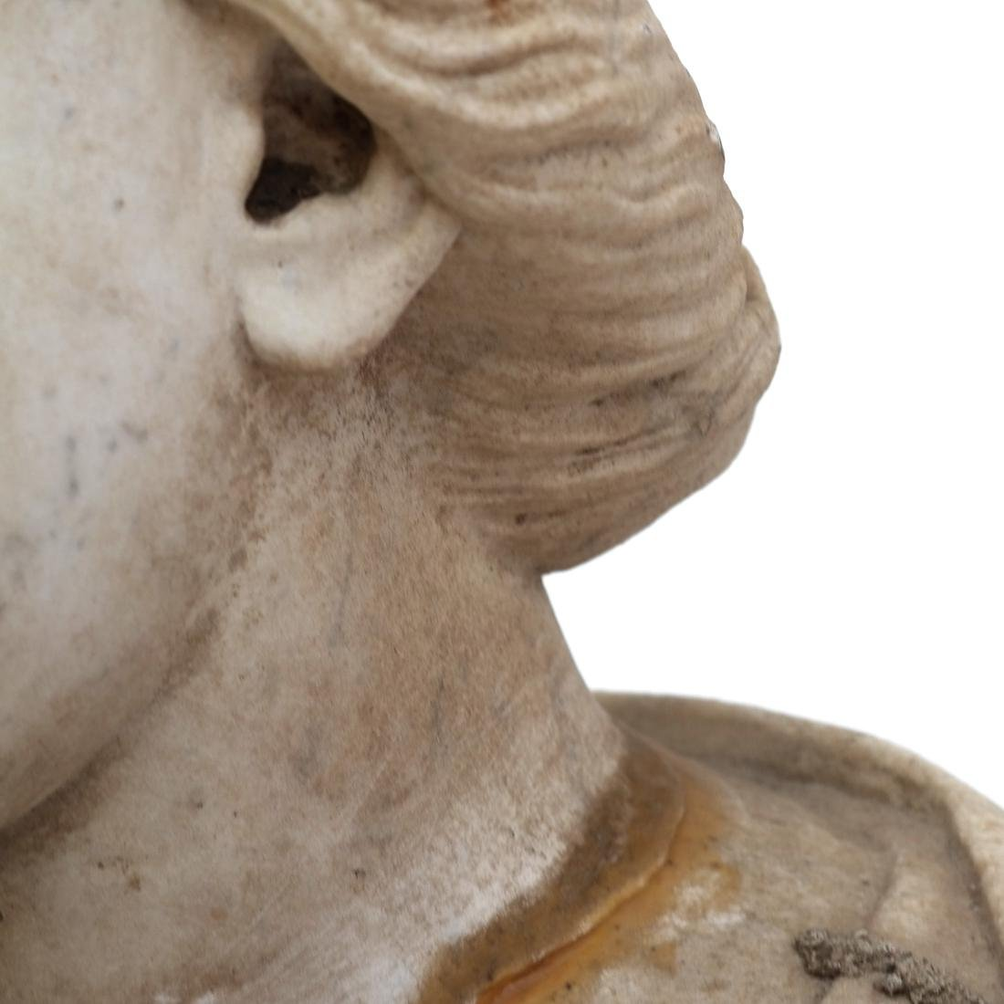 Roman Marble Bust of Ceres circa 200 AD - 7