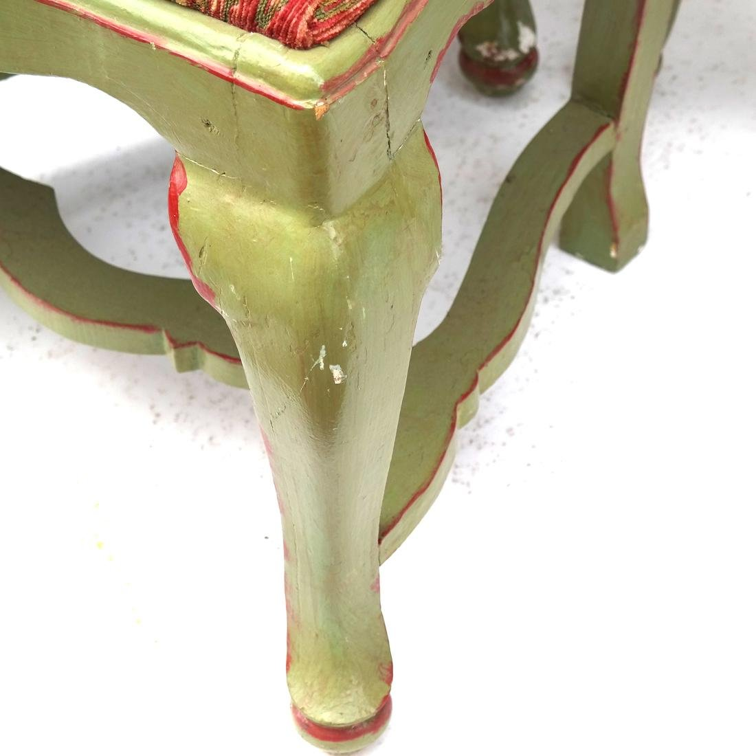 Set of 5 Italian Side Chairs 18th Century - 5