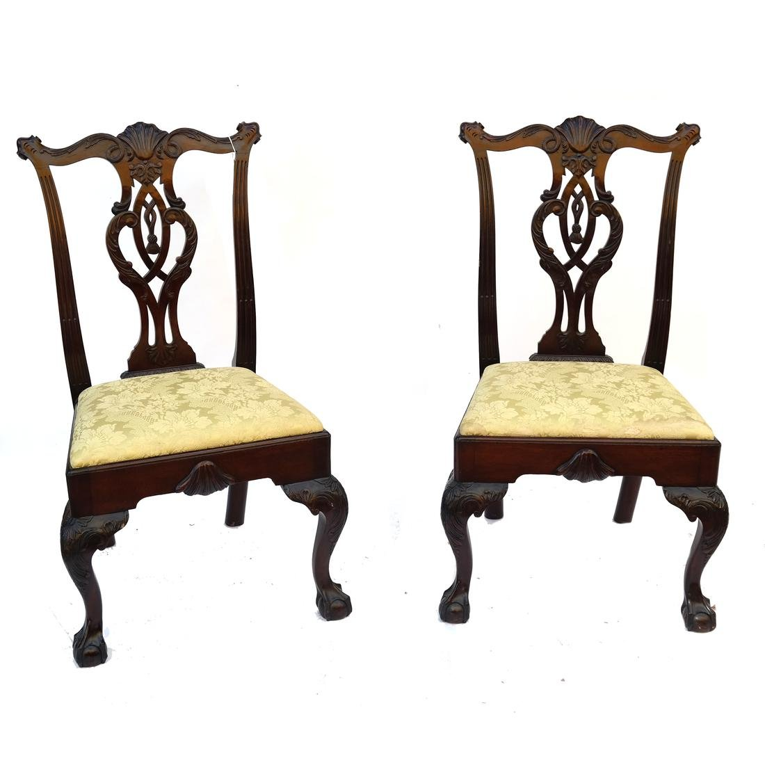 Pair Philadelphia Side Chairs circa 1860