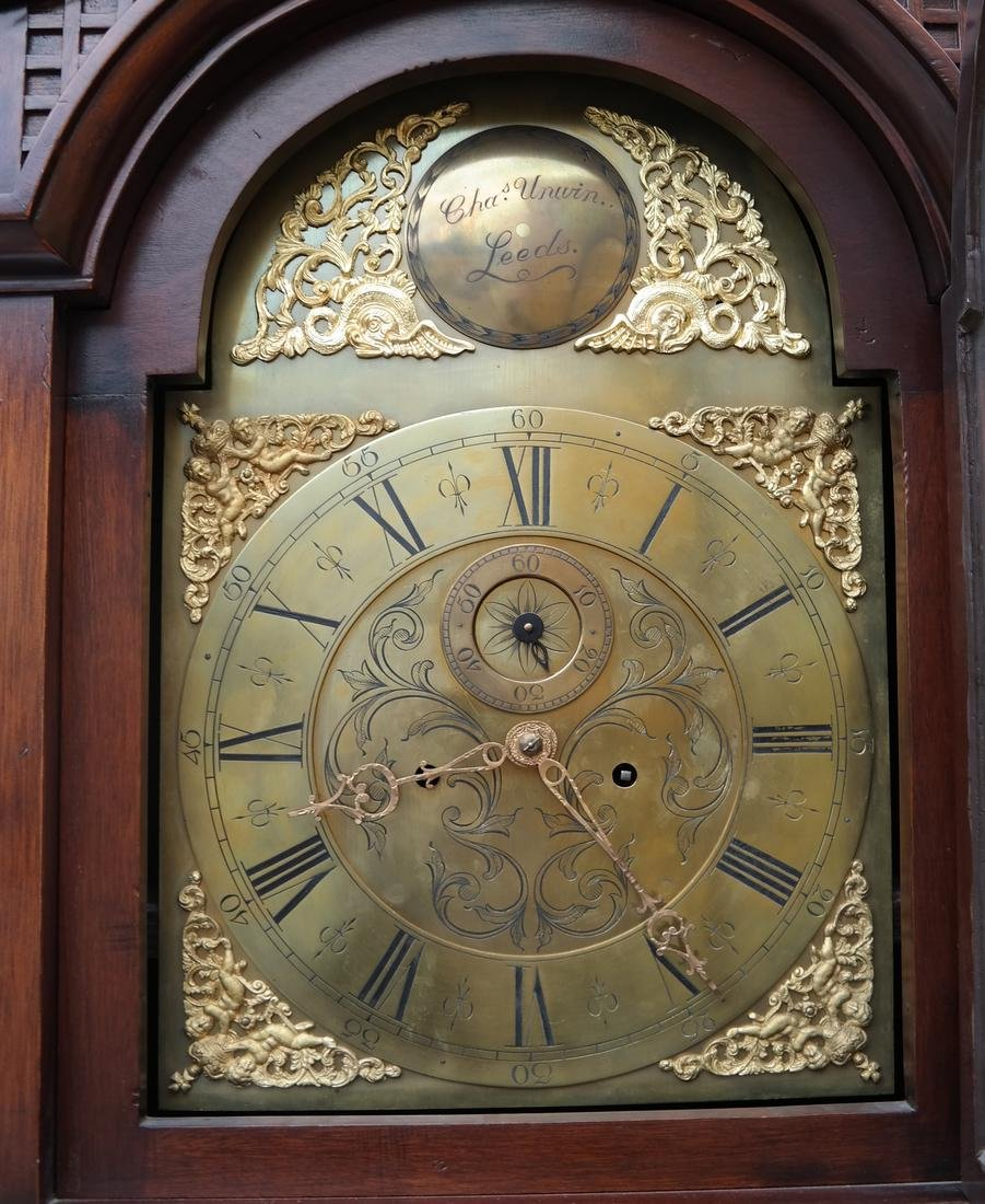 English Grandfather Clock - 3