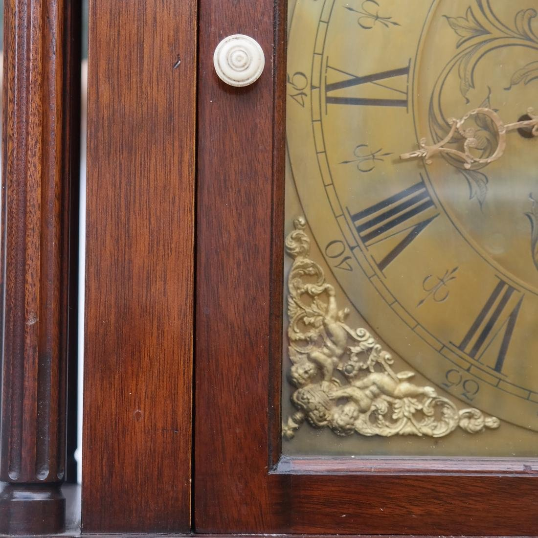 English Grandfather Clock - 5