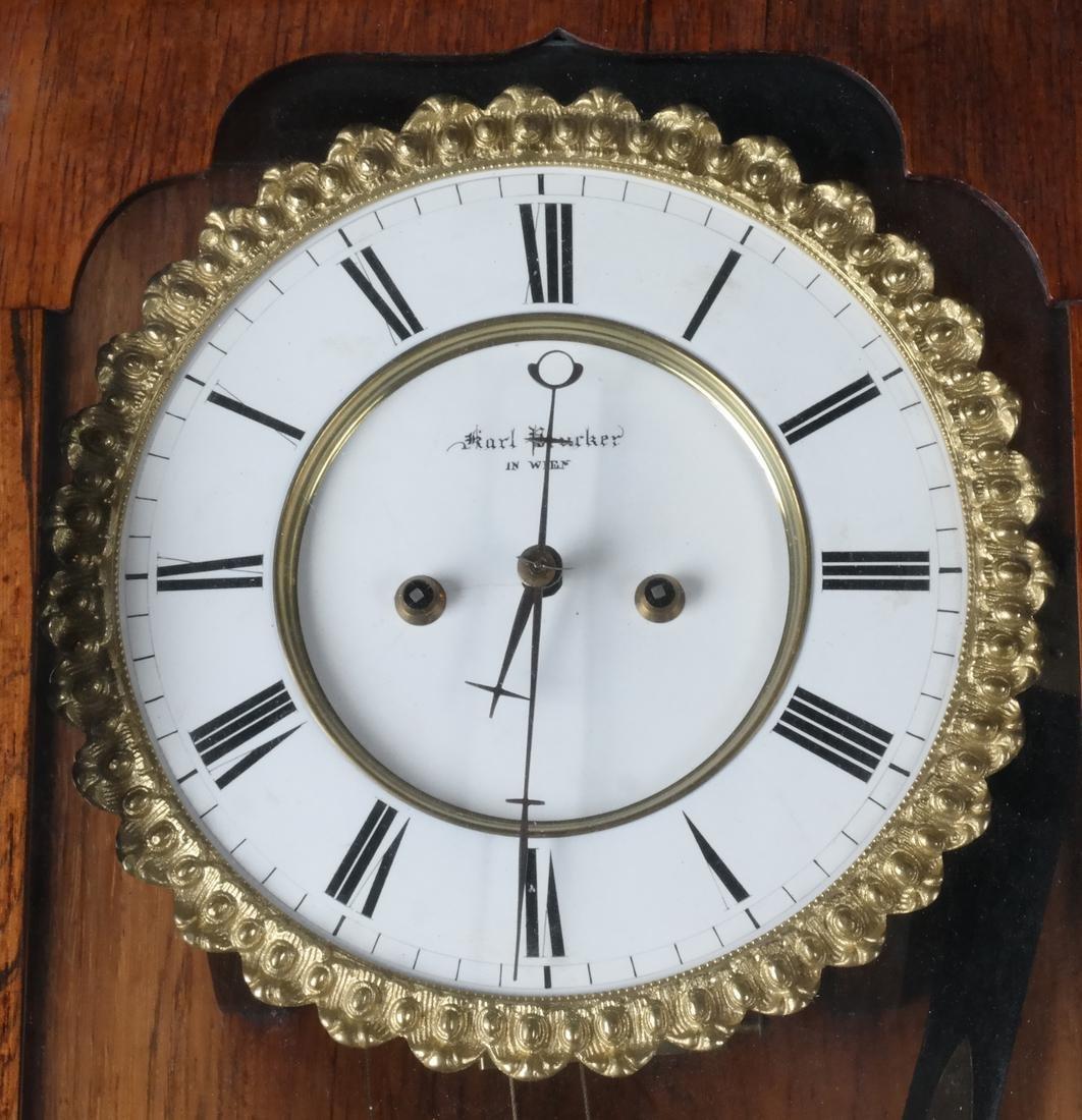 Karl Drucker Regulator Wall Clock - 2