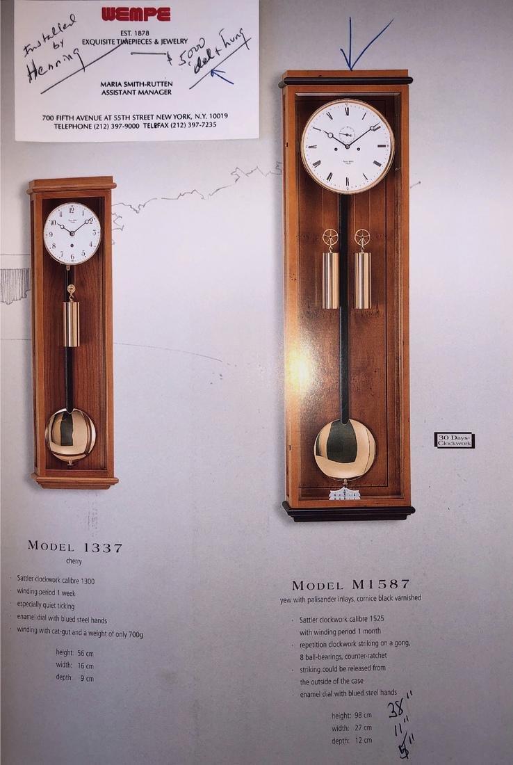 Monatslaufer Regulator Wall Clock - 5