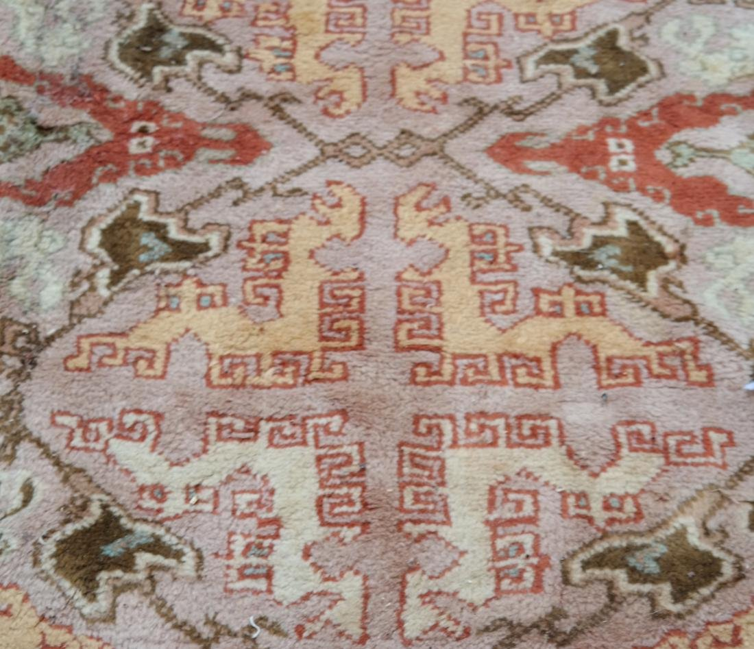 Oushak-Style Contemporary Carpet/Rug - 4