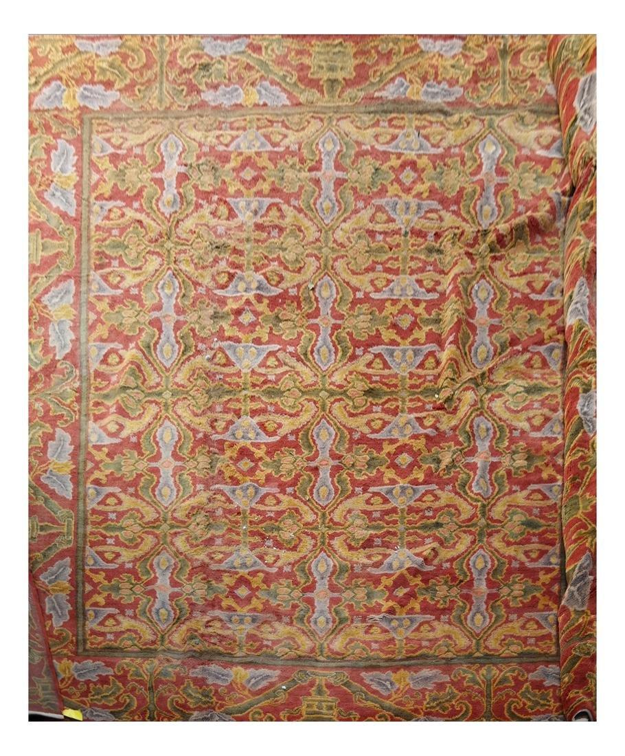 Spanish Savonnerie  Rug - Carpet