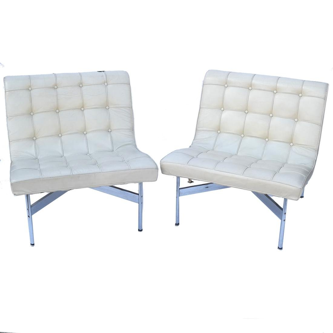 Pair of Mies van der Rohe Chairs