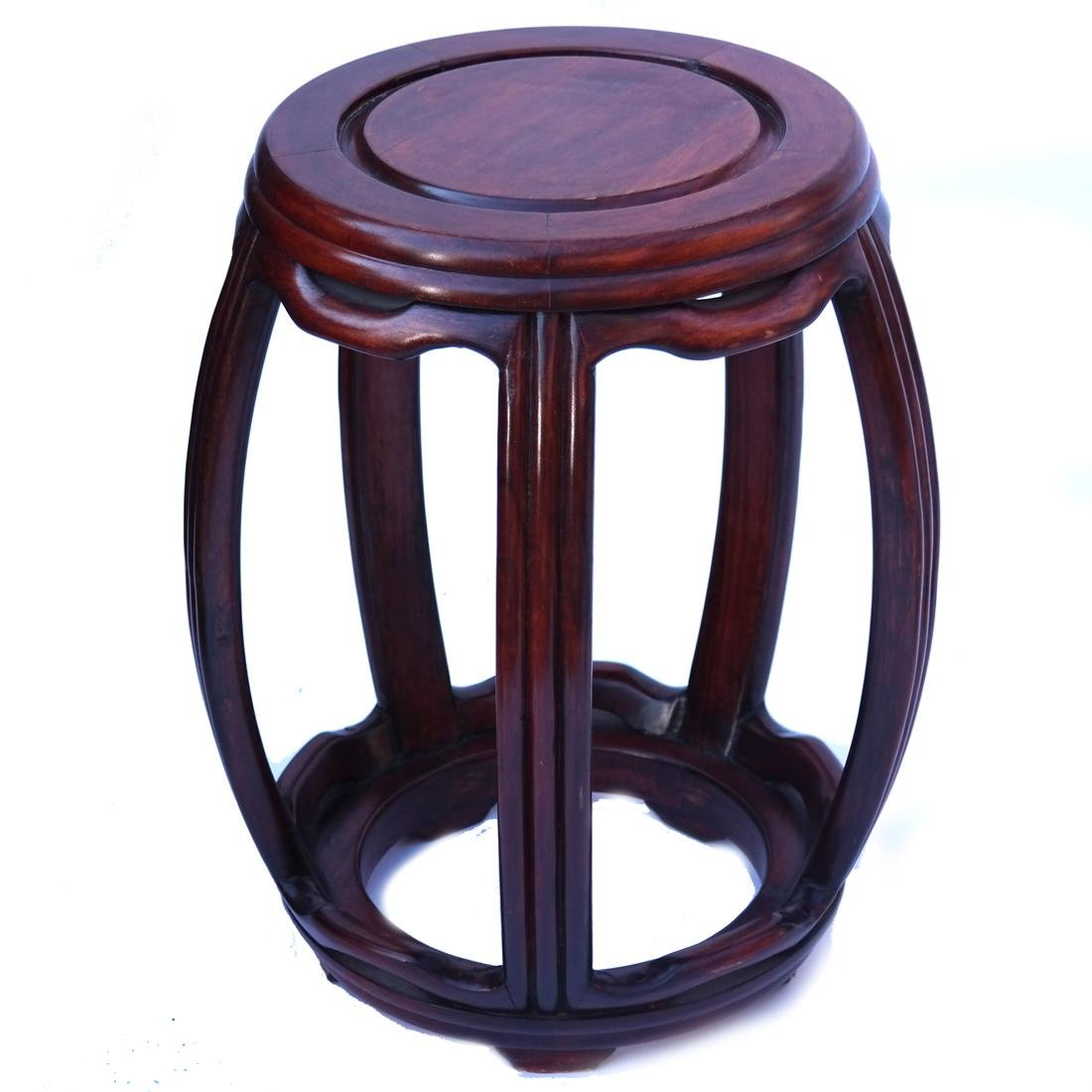 Chinese Wood Tabouret