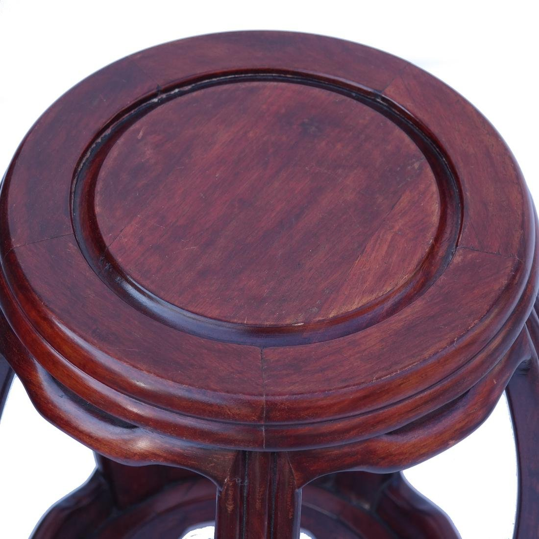 Chinese Wood Tabouret - 2