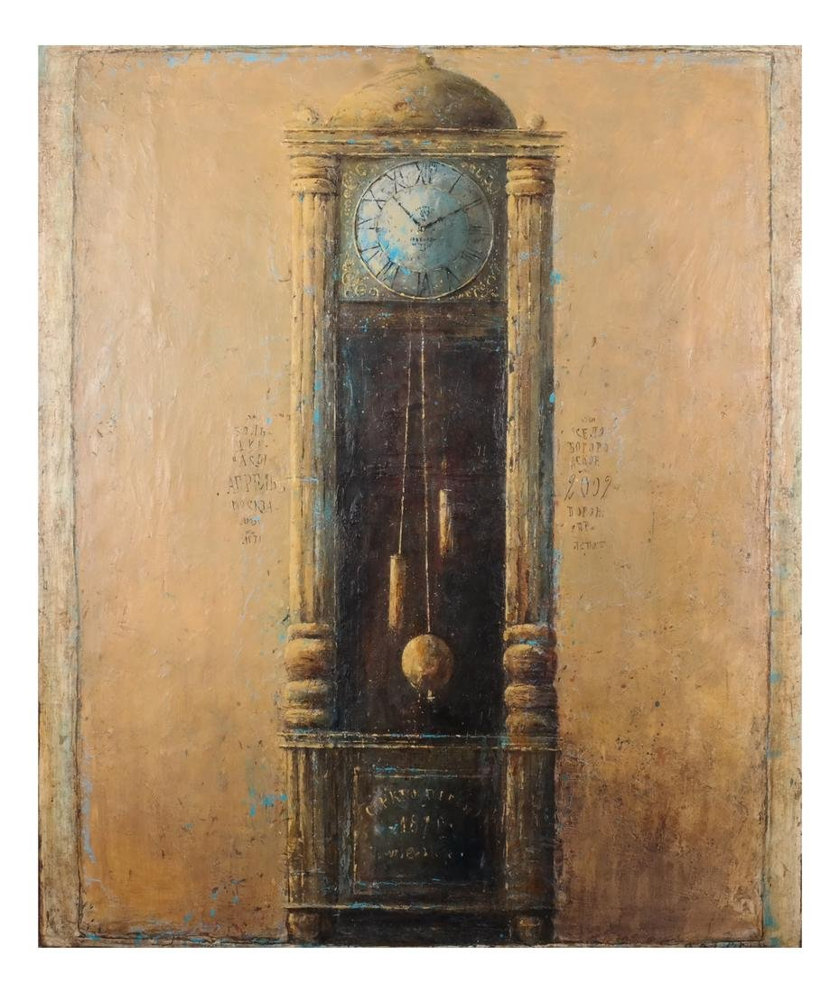"Dina Podolsky: ""Old Clock"" O/C"