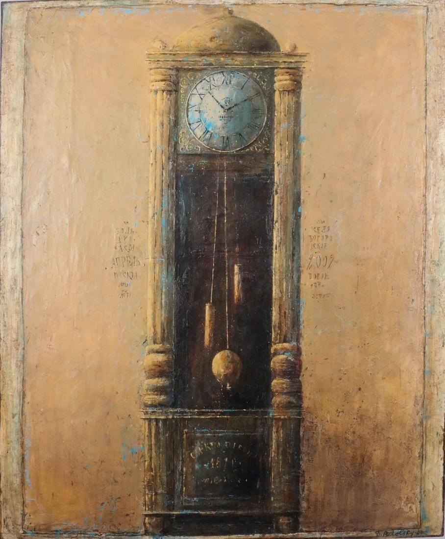 "Dina Podolsky: ""Old Clock"" O/C - 2"
