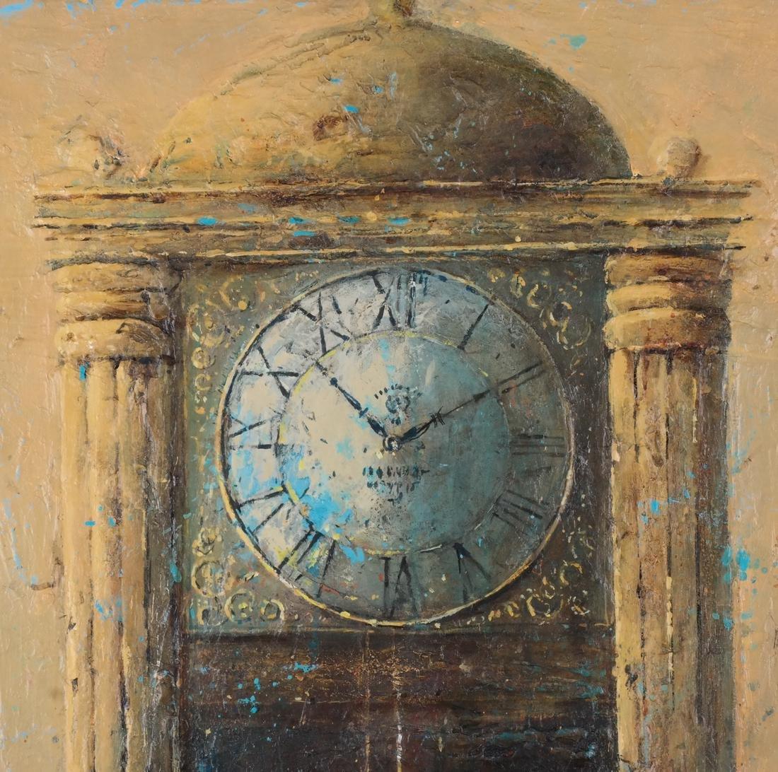"Dina Podolsky: ""Old Clock"" O/C - 4"