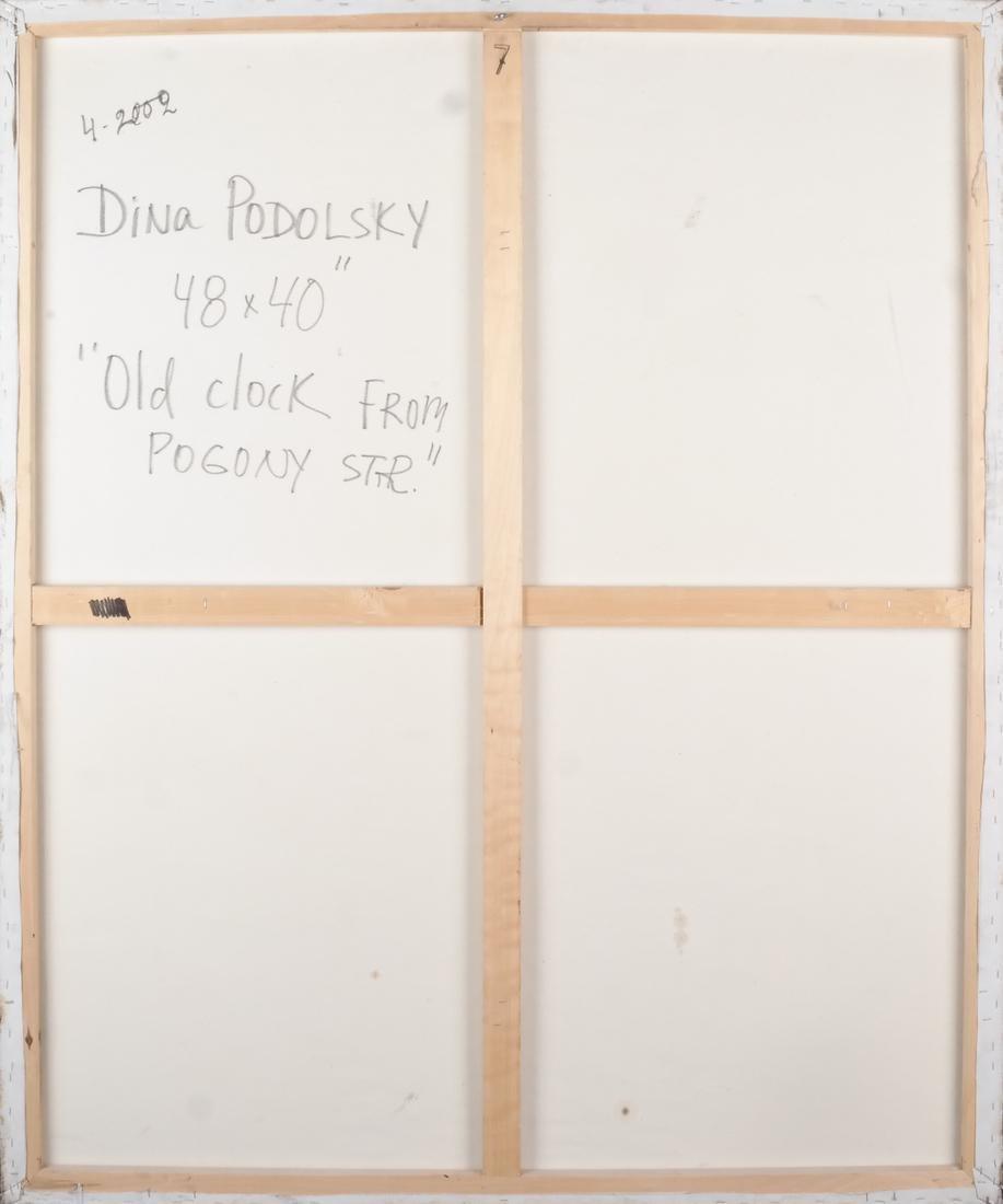 "Dina Podolsky: ""Old Clock"" O/C - 6"