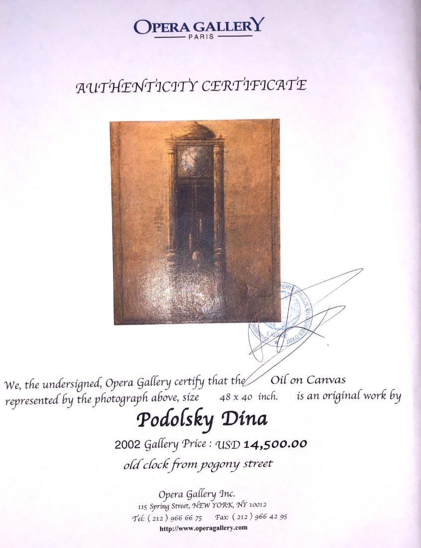 "Dina Podolsky: ""Old Clock"" O/C - 7"