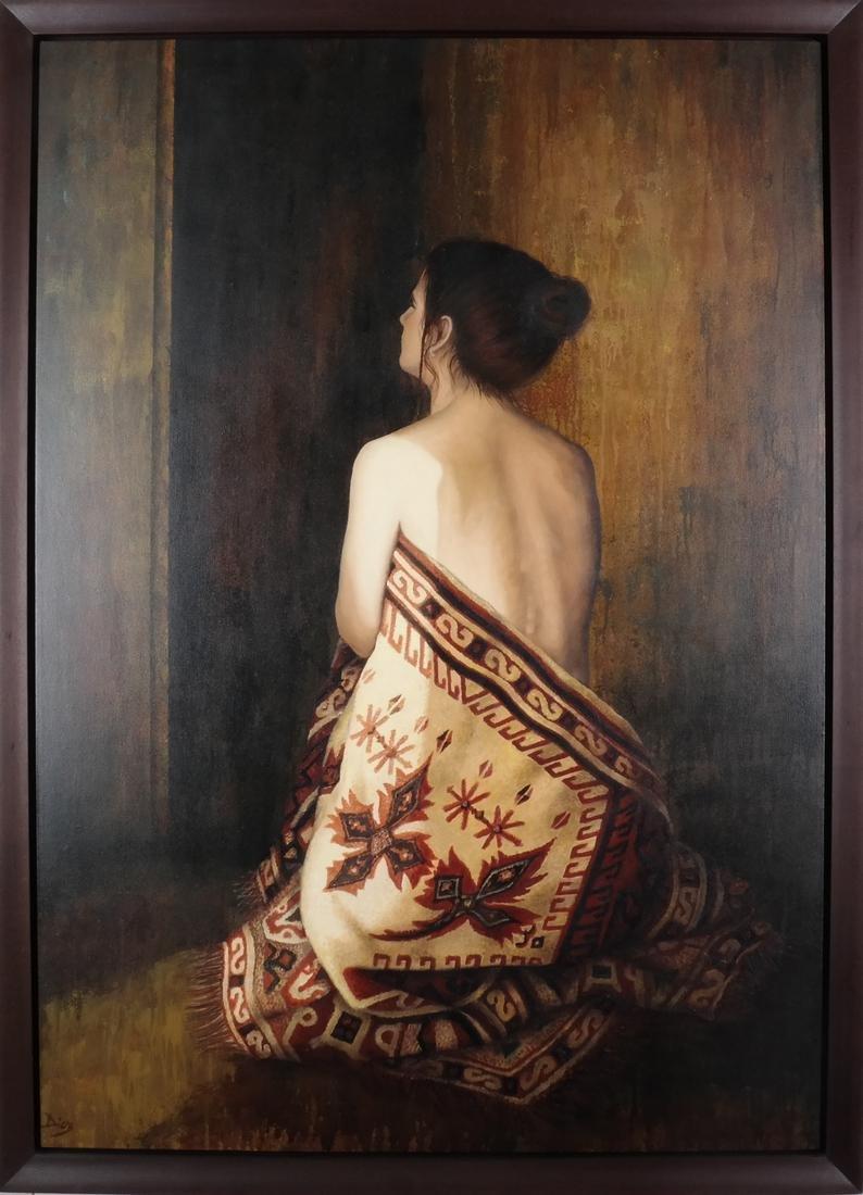 Diel: Woman - Oil on Canvas - 2