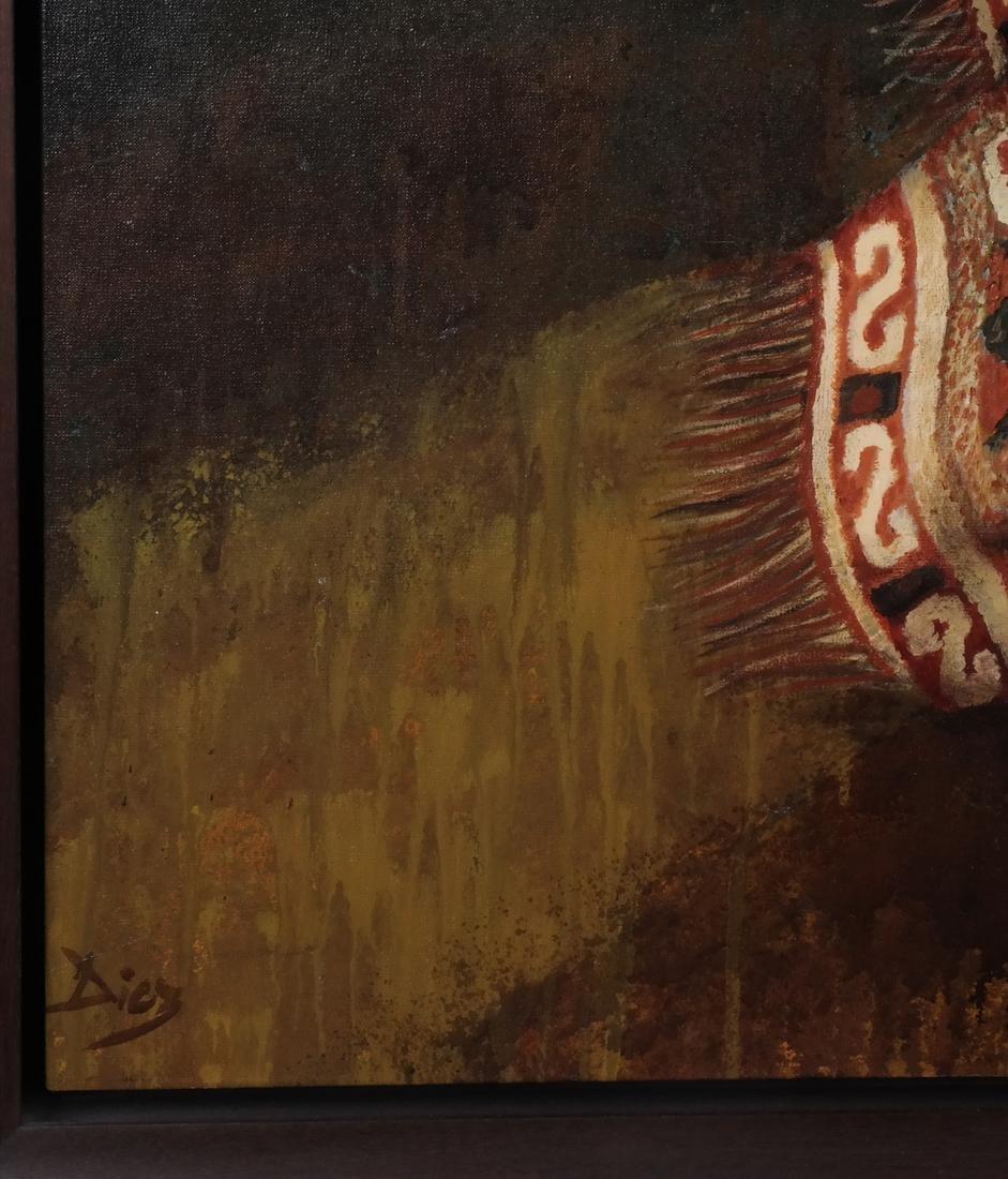 Diel: Woman - Oil on Canvas - 3