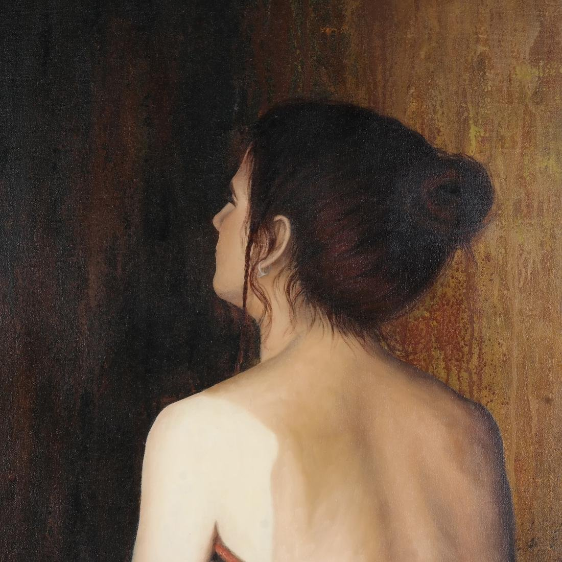 Diel: Woman - Oil on Canvas - 5