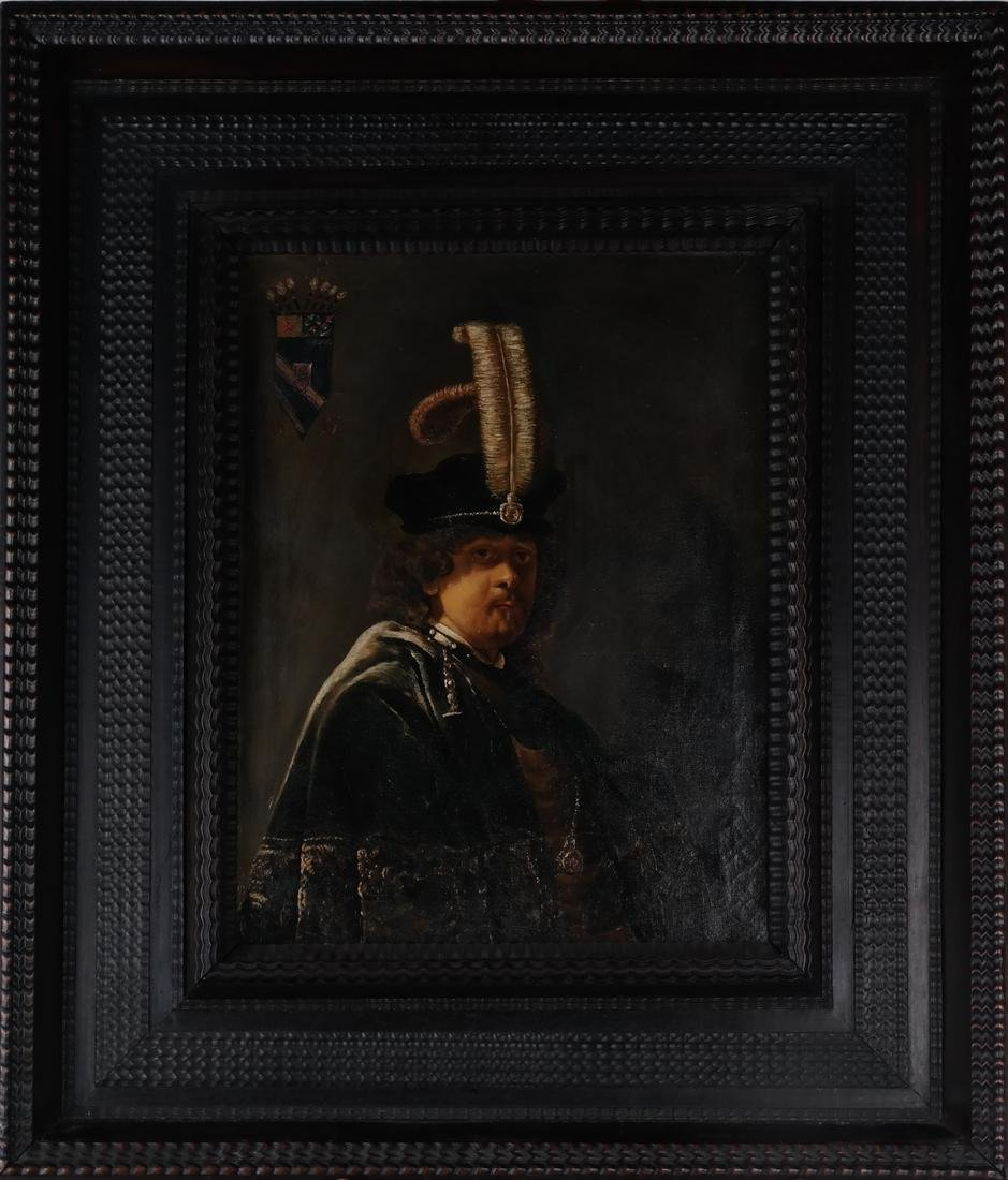 Rembrandt Copy by Russian Artist