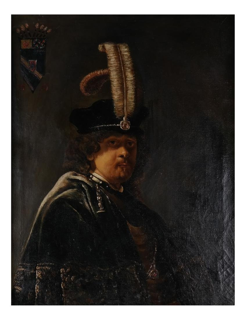Rembrandt Copy by Russian Artist - 2